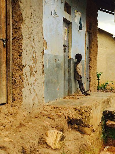 Near Mbarara, outside the epicentre zone